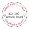 Swiss Safety Center ISO 14001 / OHSAS 18001